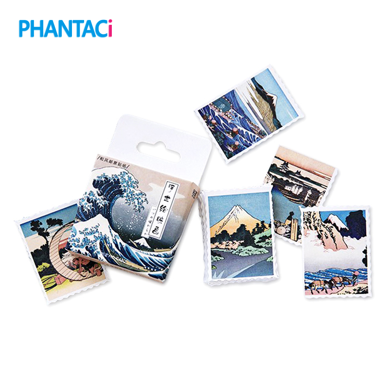 45 pcs/pack Creative Ukiyo Painting Pictures Stationery Stickers for DIY Decorative Scrapbooking Diary Album Stick Label Gifts45 pcs/pack Creative Ukiyo Painting Pictures Stationery Stickers for DIY Decorative Scrapbooking Diary Album Stick Label Gifts