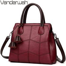86f0feb22f8 Sac A Main Femme Lederen Luxe Handtassen Vrouwen Tassen Designer handtassen  Vrouwen Schouder Crossbody Messenger Bag