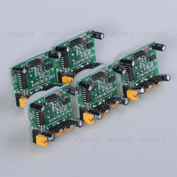 Wholesale 10Pcs/Lot Pyroelectric Infrared sensor SR501 Human Body Detecting HC-SR501 PIR Motion Sensor Module for Arduino MCU