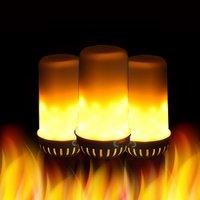 Neues angebot E27 Led Flamme Lampen LED Flammeneffektlicht Lampe AC85 ~ 265 V Flackern Emulation Feuer Lichter 7 Watt Dekorative Lampen