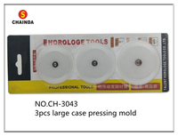 Free Shipping 1 Set Large Size Plastic Case Pressing Mold For Watch Repair