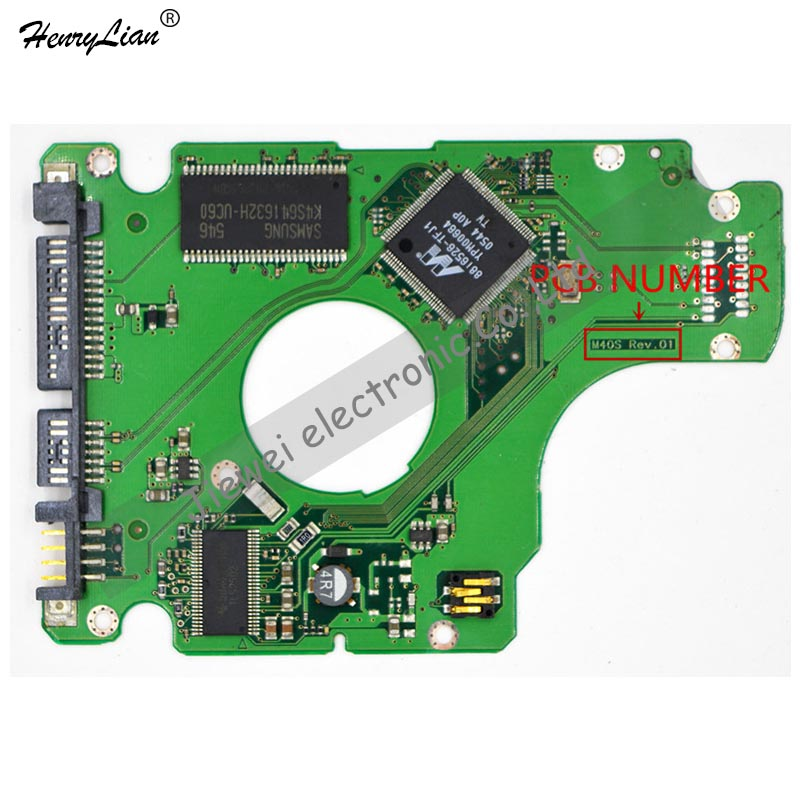 HARD DRIVER PCB BOARD LOGIC BOARD FOR  /BOARD NUMBER: BF41-00098A M40S REV.01