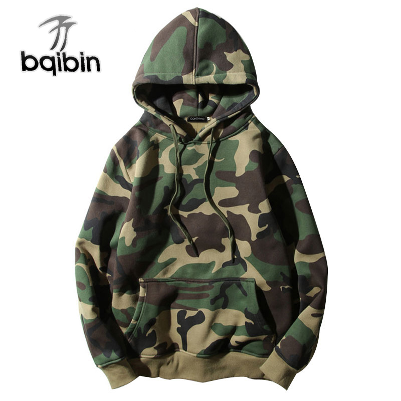 Us Army Camouflage Mens Full-Zip Up Hoodie Jacket Pullover Sweatshirt