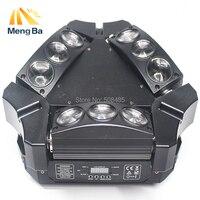 2017 New Arrival CREE MINI LED 9x10W Led Spider Light RGBW 16 48CH DMX Stage Lights