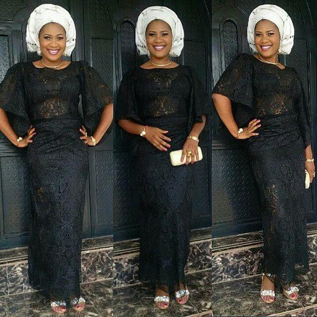 Mode Avondjurken.Black Illusion Kant Afrikaanse Mode Avondjurken Nigeriaanse Stijlen