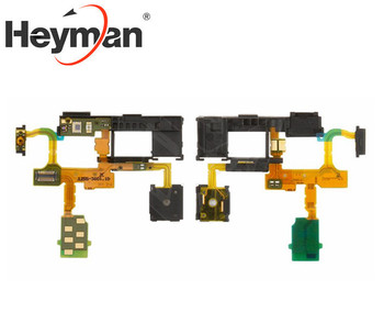 Cable plano flexible Heyman para conector de auriculares Sony TX LT29i, reemplazo de botón de encendido