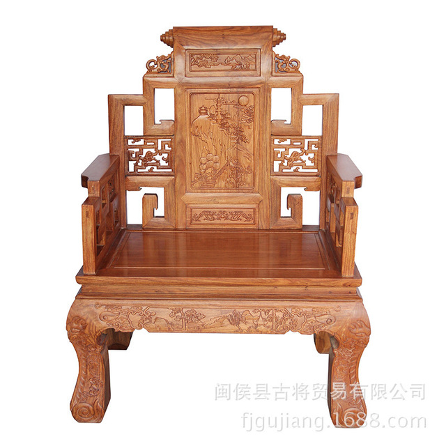 the trade of african pear landscape ancient throne antique chinese