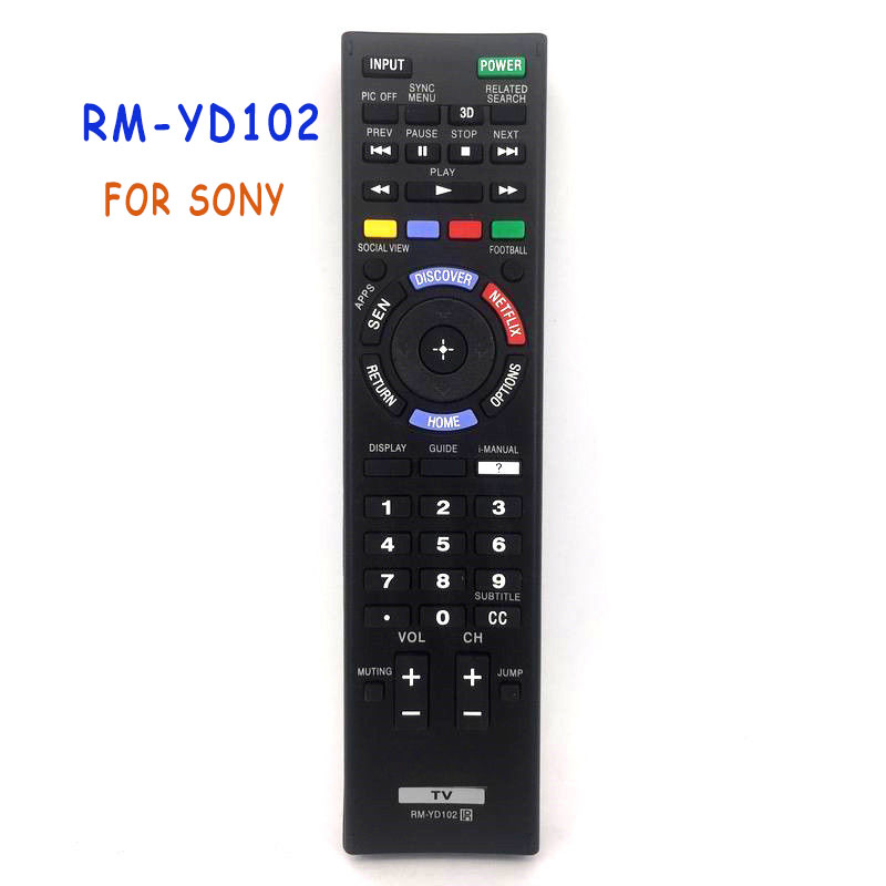 RM-YD102 General Remote Control For Sony KDL-42W651A KDL-46W700A 149276611 PLASMA BRAVIA LCD LED HDTV TV chunghop rm l7 multifunctional learning remote control silver