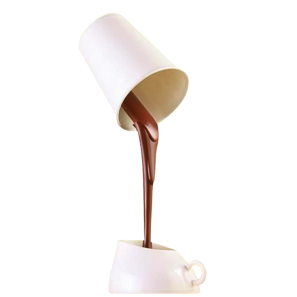 LNHF  Novelty DIY LED Table Lamp Home Romantic Pour Coffee Usb Battery Night Light куртка джинсовая lee lee le807emaksy8