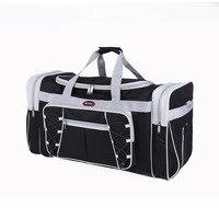 2018 new casual Shoulder Bag Travel Bag Black polyester bag factory direct wholesale