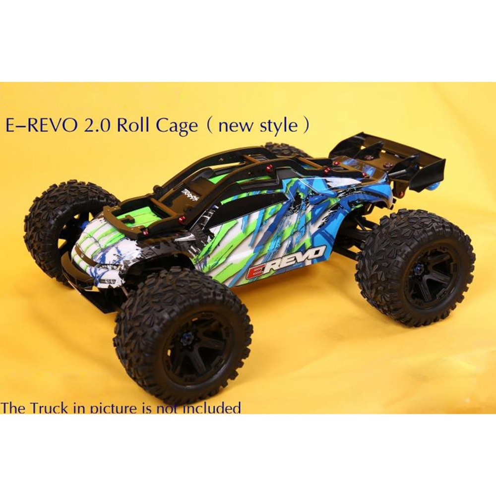 Protective Nylon Frame Roll Cage for <font><b>1/10</b></font> Traxxas 2018 E-REVO 2.0 86086-4 Cover Frame <font><b>RC</b></font> Car <font><b>Accessories</b></font> image