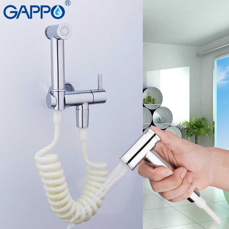 Gappo Toilet Keran Toilet Shower Enema Bidet Kamar Mandi Portabel Kloset Duduk Anal Cleaner Muslim Shower Wall Mounted Bath Spray Shattaf