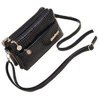 FGGS Hot Women Handbags Small Shoulder Bag Crocodile Pattern Women Messenger Bags For Women Handbag Clutch