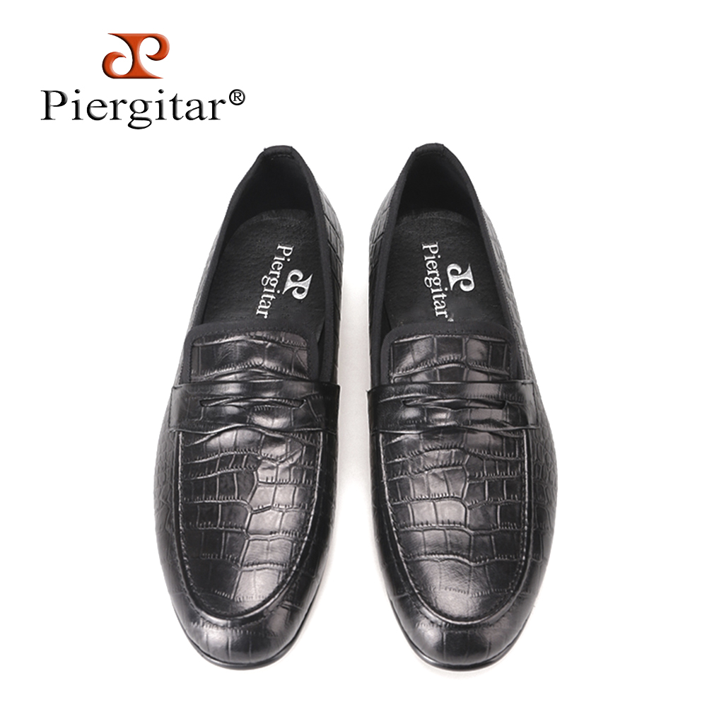 Здесь продается  Piergitar Crocodile embossed Genuine Leather Men