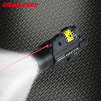 Mini Glock Pistol Gun Light Lazer Pointer Beretta Laser Walther Laser Dropshipping Glock 19 Tactical Laser Flashlight