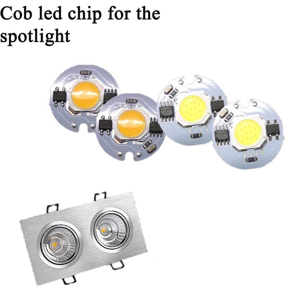 Ampoule Led 3W 5W 7W 9W 220V LED Lamp Chip Cold White Warm