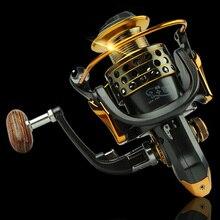 Высококачественная металлическая спиннинговая Рыболовная катушка 14BB XF1000-XF7000 соотношение 5,1: 1 4,7: 1 рыболовное колесо соленая вода Рыболовная катушка для рыбалки