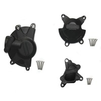 Motorcycle Black Engine Stator Case Cover Guard Protection Kits For GB Racing Case For Yamaha YZF