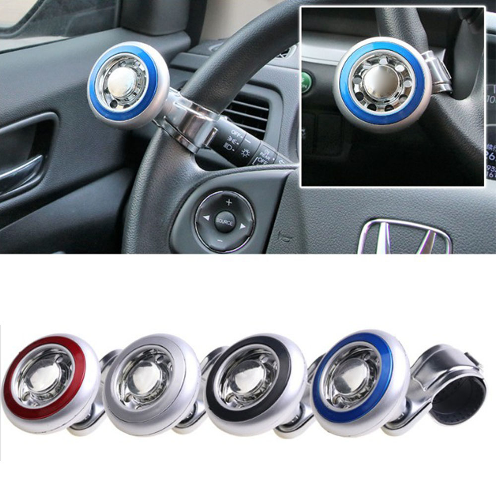 Car Steering Wheel Spinner Knob Handle Ball Hand Control Ball Car Grip Knob Turning Helper Cars Auxiliary Booster first generation afg grip handle grip triangle holder triangle knob gun accessories