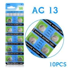 YCDC Самая низкая цена ворс Montre+++ горячая Распродажа+ 10 шт AG13 LR44 357A S76E G13 кнопочные батарейки для монет 1,55 в щелочные 22
