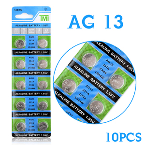 YCDC Lowest Price Pile Montre+ +Hot Selling+ 10 Pcs AG13 LR44 357A S76E G13 Button Coin Cell Battery Batteries 1.55V Alkaline 22(China)