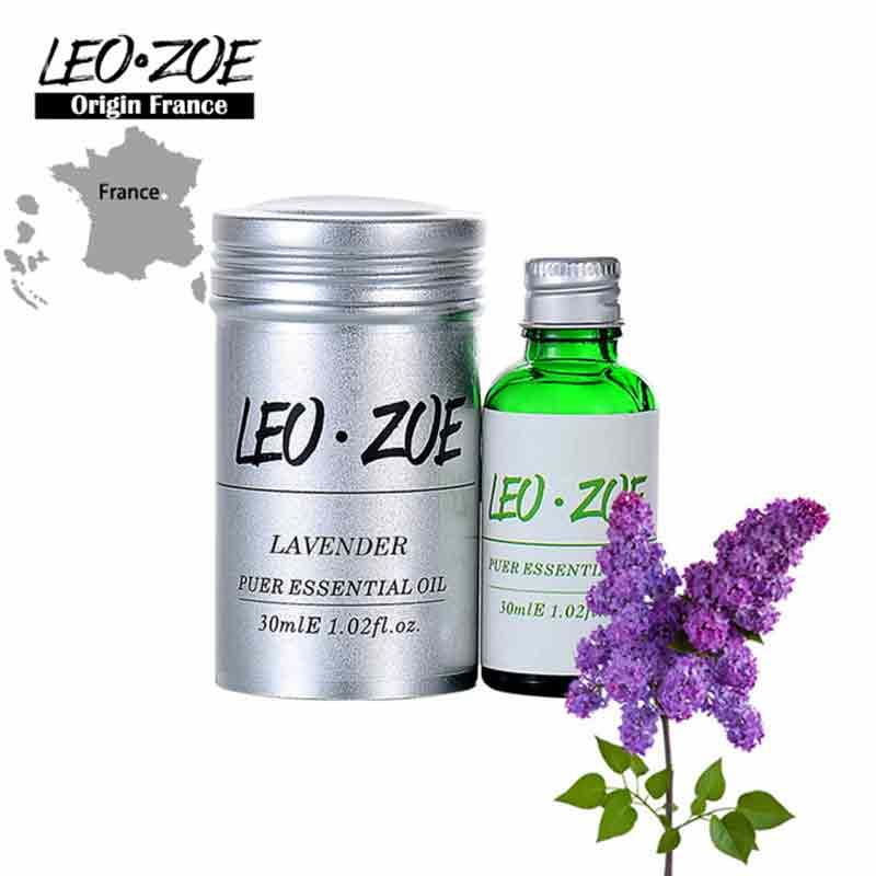 Marque bien connue LEOZOE lavande huile essentielle certificat d'origine France authentification aromathérapie lavande huile 30 ML