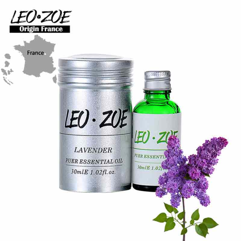 Well-Known Brand LEOZOE Lavender Essential Oil Certificate Of Origin France Authentication Aromatherapy Lavender Oil 30ML well known brand leozoe frankincense essential oil certificate of origin ethiopia authentication frankincense oil 30ml100ml