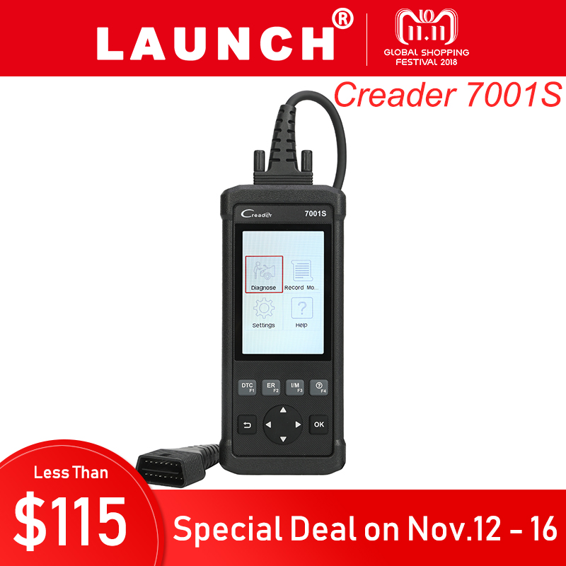 Launch Creader 7001S Automotive Diagnostic Tool Car ABS SRS System Code Reader Scanner with Oil Reset EPB Reset Service obd2 scanner launch creader 8001 car code reader full obdii eobd auto diagnostic scanner tool with abs srs epb oil service
