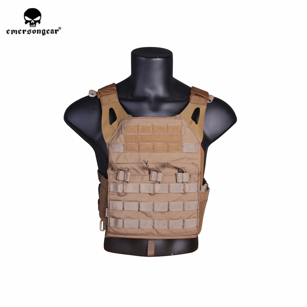 emersongear Emerson JPC Tactical Vest Body Armor Nylon Molle Protective Plate Carrier Military Airsoft Combat CS
