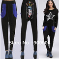 HiP-Hop Casual Harem Baggy Mickey Head Big Yards Sweat Pants Trousers Slacks New Free Shipping With Tracking Number