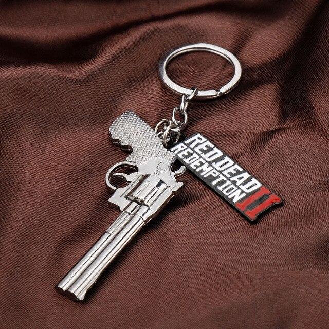 Брелок револьвер Red Dead Redemption 2 3