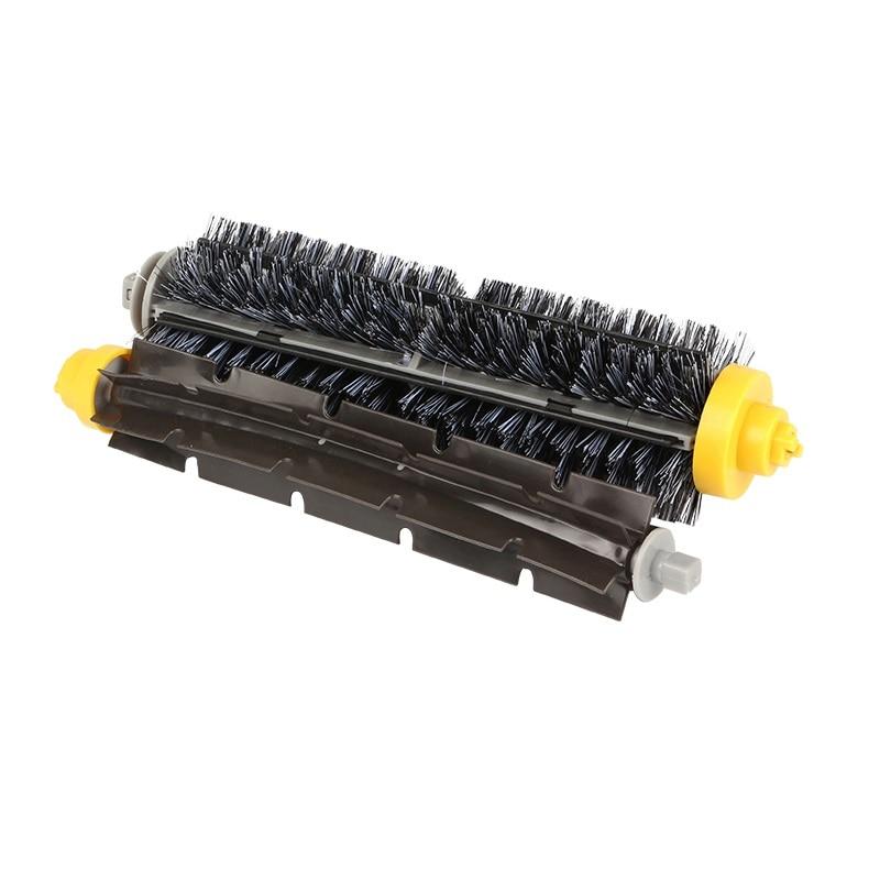 10 pièces Flexible Batteur Brosse À Poils Brosse Pour iRobot Roomba 500 600 700 Série 550 630 650 660 760 770 780 790 aspirateur