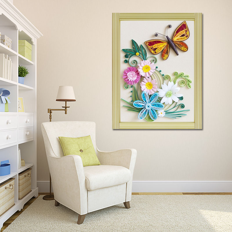 Paper Quilling Wall Decoration