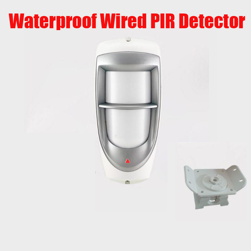 New wired PIR Detector/Outdoor Waterproof Detector/Alarm System P85 Four element intelligent PIR intrusion free ship