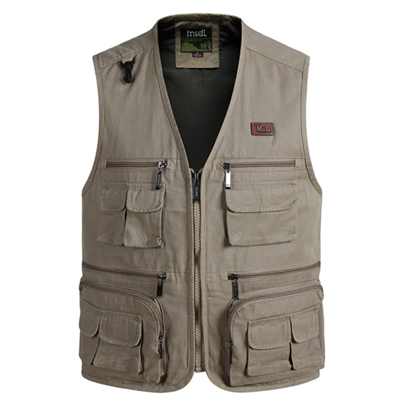 aeProduct.getSubject()  Mens Multi Bag Pockets Out of doors Fishing Vest Strong Shade Photographic Waistcoats for Out of doors Sport Lover HTB1gJy