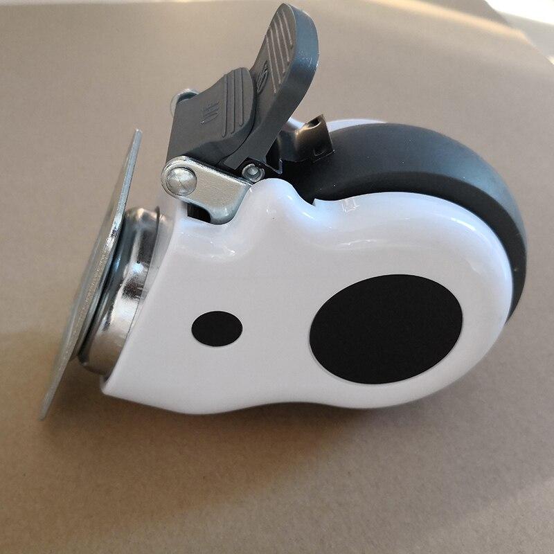3 дюймов приглушенные медицинской МНЛЗ больничной койке стул колеса универсальный мебель колеса промышленности Бизнес оборудования часть