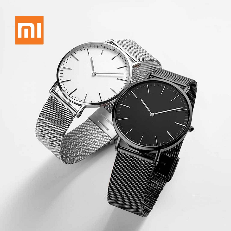 In stock Xiaomi Youpin TwentySeventeen Series Quartz Watch Casual Business Wrist Watch Women Men Waterproof Couple Quartz Watch image