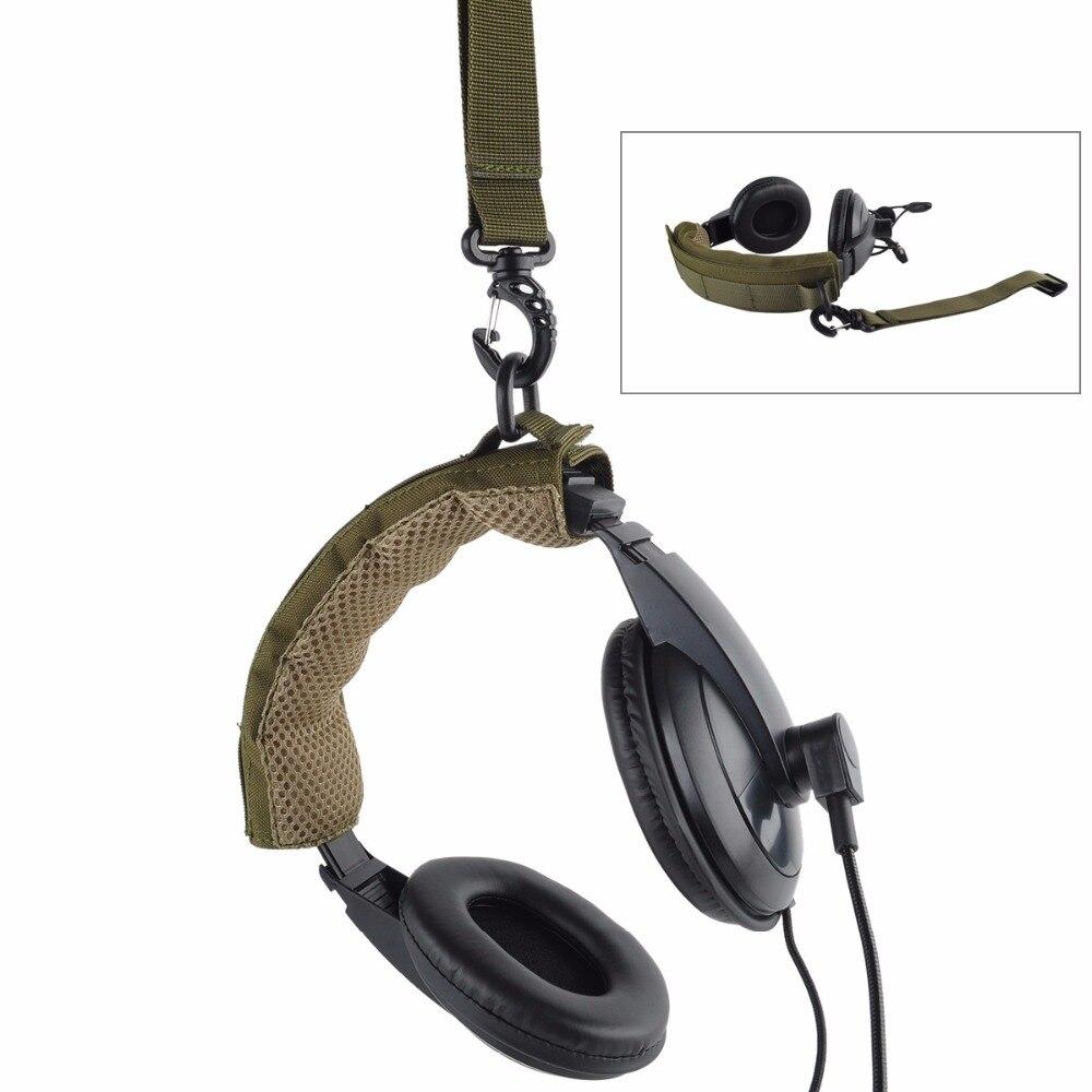 Auriculares modulares avanzados cubierta Molle diadema para auriculares tácticos generales micrófono caza tiro auriculares cubierta