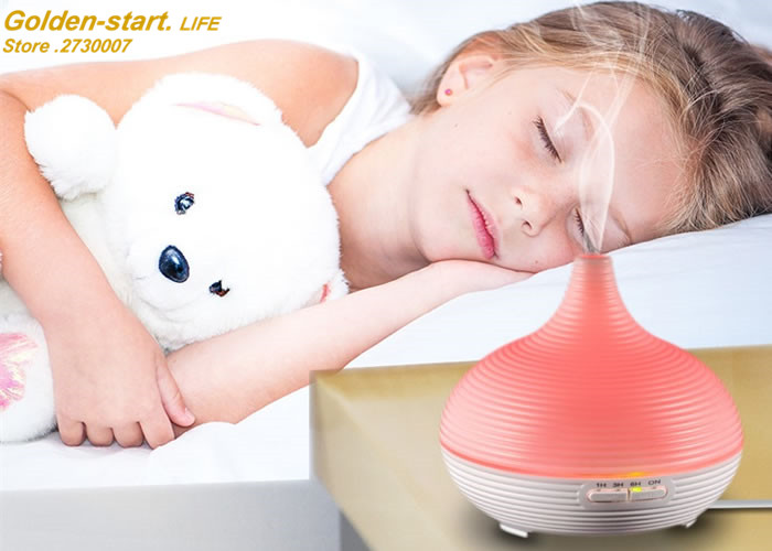 6 Color ultrasonic humidifier essential oil diffuser aroma lamp Aromatherapy electric aroma diffuser mist maker Home and office hot large capacity 3l ultrasonic humidifier essential oil diffuser aroma lamp aromatherapy electric aroma diffuser mist maker