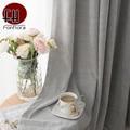 Однотонные розовые занавески для гостиной  спальни  шенили  кашемировая ткань  серый стиль  занавески на окна  занавески для детской комнаты