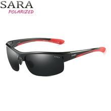 SARA  Sunglasses men women sport windproof sunglasses Polaroid Goggle UV400