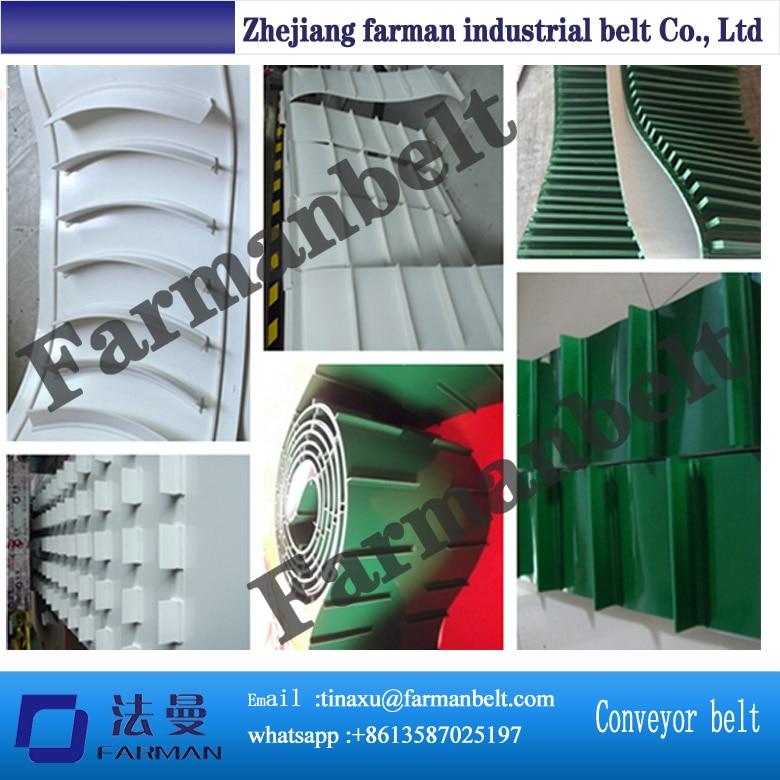 купить farman sidewall skirt cleat bar attachment pvc pu conveyor belt недорого