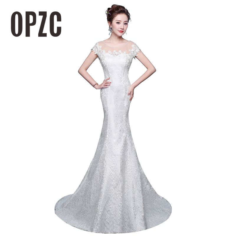 a0d55148e395 Detail Feedback Questions about New Fashion Classic Simple Elegant  Beautiful Lace Flowers Mermaid Wedding Dresses Vestidos De Noiva Robe De  Mariage Bridal ...