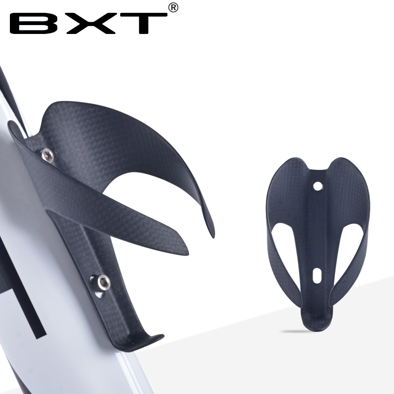 BXT Cheap Full Carbon Bottle Cage Road Bike Bottle cages Bicycle Bottle Holder Water Bottle Cage Road MTB Bicycle Accessories phase m008  bike bicycle water bottle holder cage   black