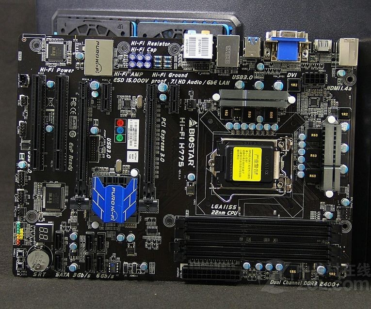 все цены на original motherboard for Biostar Hi-Fi H77S LGA 1155 DDR3 32GB for i3 i5 i7 CPU USB2.0 USB3 SATA3 .0 H77 Desktop motherboard онлайн