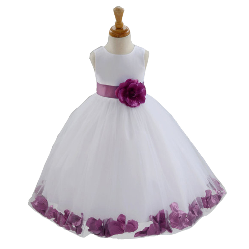 New Born Kids Baby Girls Beautiful Flower Dress Princess Mini Tutu First 1st Birthday Outfits Toddler