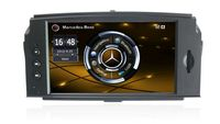 2din Car Radio Gps For Mercedes BENZ C Class C200 C180 W204 2008 2010 Navi USB