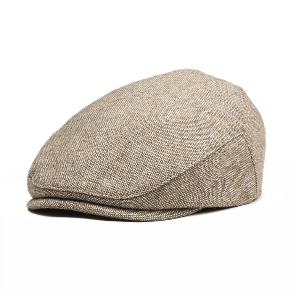 Jangoul Small Size Kids Woollen Tweed Flat Cap Page Boy Girl Newsboy Caps Infant Toddler Child Youth Beret Hat 002 To Have A Unique National Style Kleidung & Accessoires