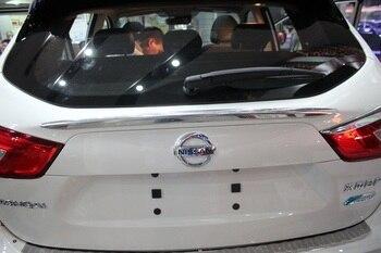 Auto tylne wykończenia bagażnika, tylne drzwi naklejki dla Nissan Qashqai 2015 YT-71613
