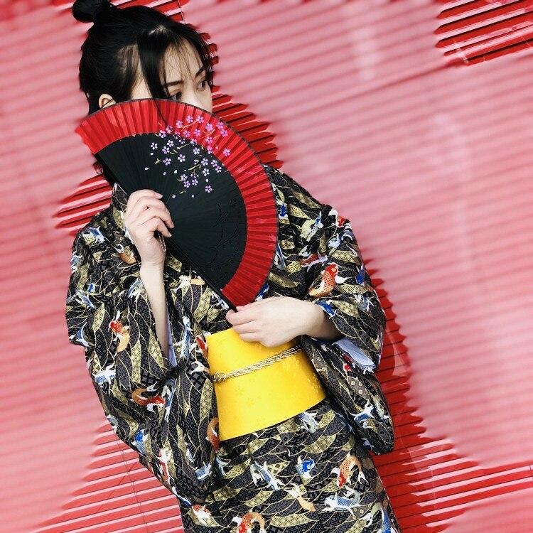 Kimono japonais peafchouette été 2019 kimono en satin de polyester pour femme robe de soirée yukata kimono haori